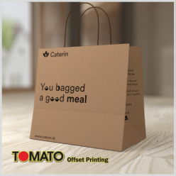 Shopping Bag Brown Kraft