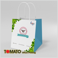 Shopping Bag White Kraft